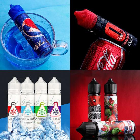 Free Logo Box and Lebel Design E Liquid Supplier in China