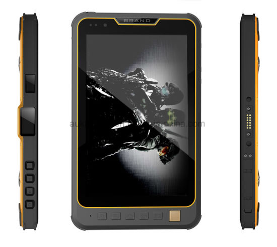 8 Inch Industrial Rugged Android Tablet with Msm 8953 2GB+16GB