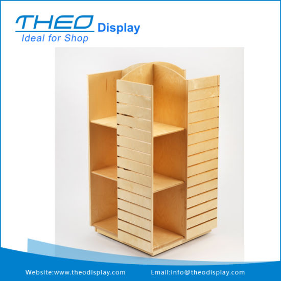 China Movable Wooden Book Display Storage Stand With Acrylic Holder Magnificent Wooden Book Display Stand