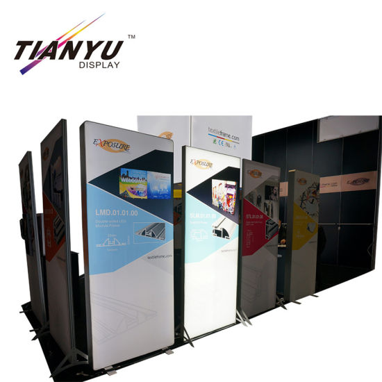New Product Trade Show Booth Display LED Letter Signn Exhibition Booth pictures & photos