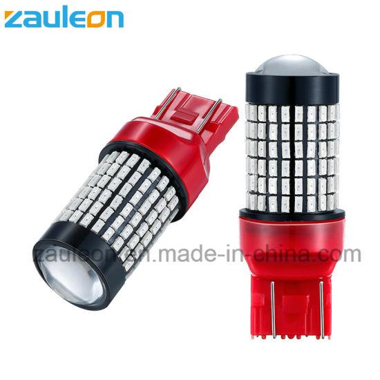 Automotive LED Light T20 7443 7440 Red Color for Brake Lamp Tail Light