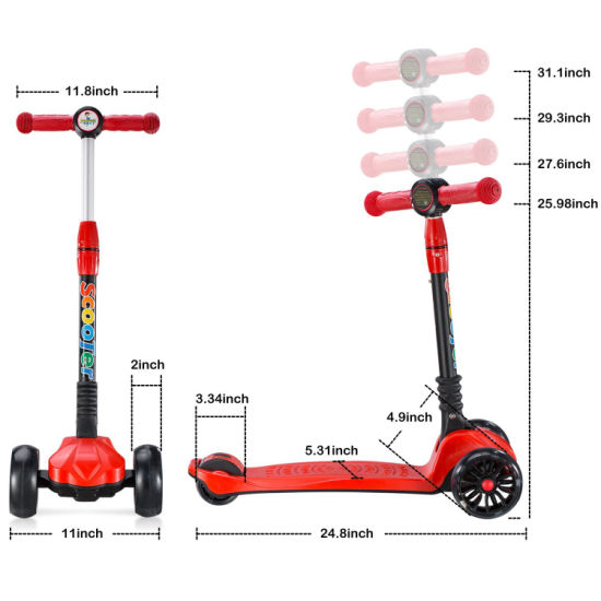 Hot Sales Foldable Kick Scooter for Kids pictures & photos