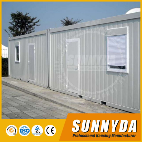 Movable Container House 20FT Luxury Shipping Container Office (SU-C123)