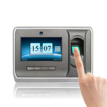 Multi Biometric Fingerprint Time Attendance System with Camera (UT-90)