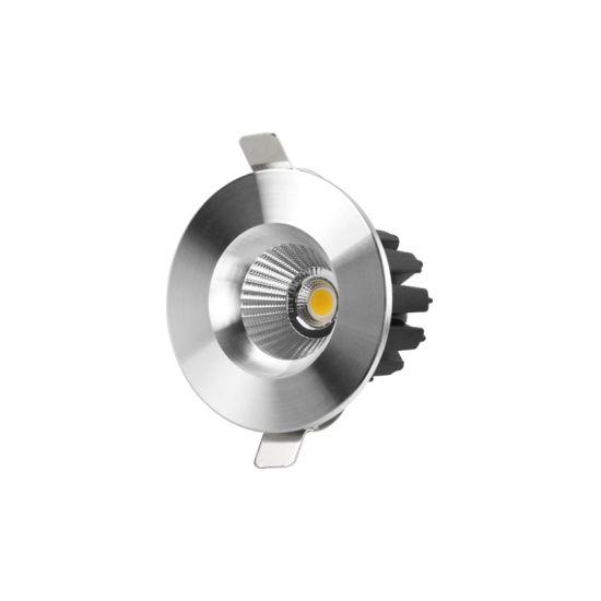 2021 The New Silver LED Reccessed Light Mini COB LED Downlight 9W