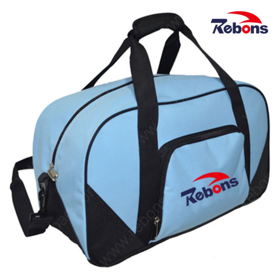 New Design Hot Sale Custom Sports Bag Folding Gym Bag Rip Stop Foldable Travel Bag for Camping