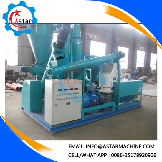 Small Investment 200-500kg/H Flat Die Pellet Making Line for Sale pictures & photos