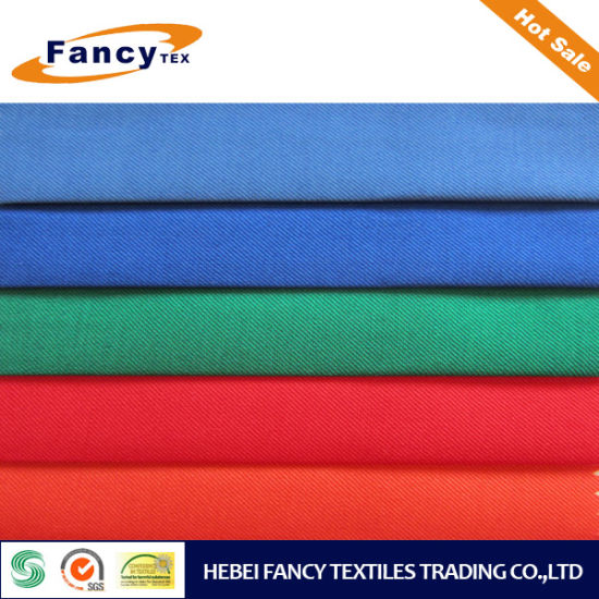 Textile Poly Rayon Solid Dyed Fabric for Garments