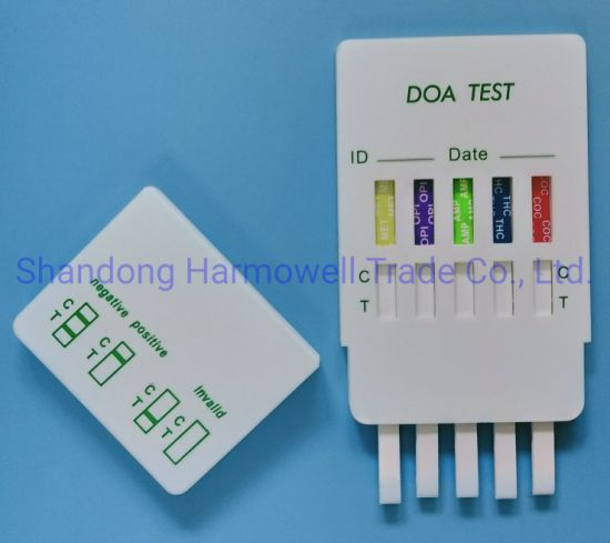 Safe Multi Panel Drug Test Rapid Test Cassettes of Result Reader pictures & photos