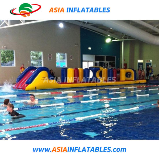 Inflatable Water Obstacle Course, Inflatable Water Floating Toys pictures & photos