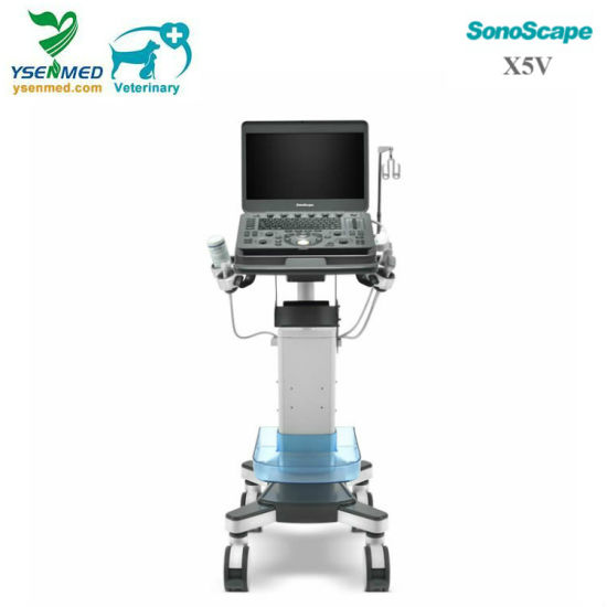 Sonoscape X5V Animal FDA Ce Medical Veterinary Color Doppler Price pictures & photos