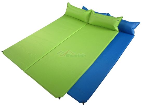 [Hot Item] Double Self-Inflating Camping Mat (XP-2133)