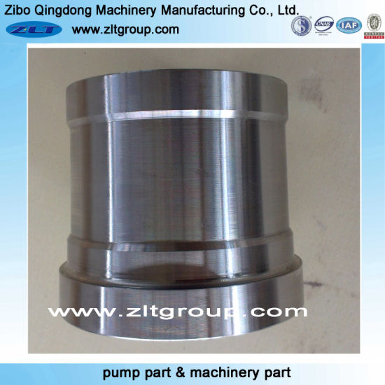 Customized Chemical/Mining Industry Centrifugal Pump Sleeve CNC Machinery/Machining Parts Shaft Sleeve in in Stainless/Carbon Steel CD4/316ss/Titanium