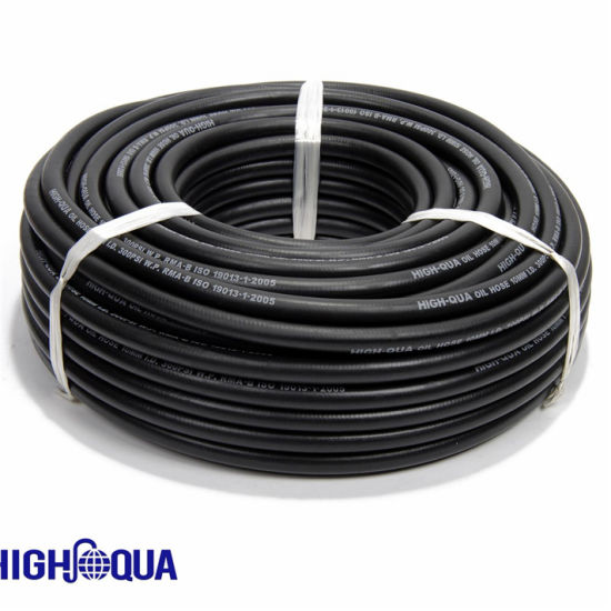 High Pressure Smooth Surface Oil Resistant NBR Rubber Fuel Oil Hose