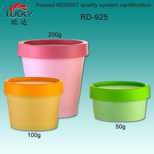 Plastic Cream Jar Facial Jar Cosmetic Container