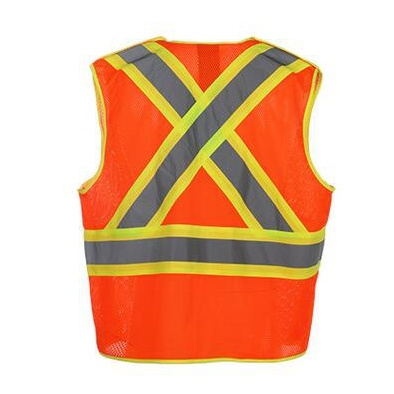 Warning Safety Vest with Pockets pictures & photos
