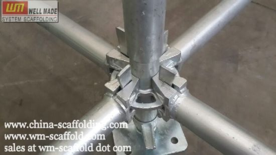 Od60mm Shore System Construction Ring Lock Scaffolding