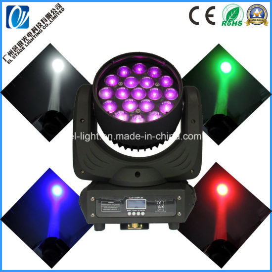 Martin Mac Aura 19*15W RGBW 4in1 LED Moving Head Zooming Wash Light
