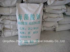 Sodium Alginate, Used as Emulsifier, Thickenner and Stablizer, Dyeing Paste pictures & photos