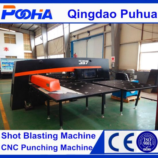 Hot Sell AMD-357 Hydraulic CNC Turret Punch Press Machine with CE Certification pictures & photos