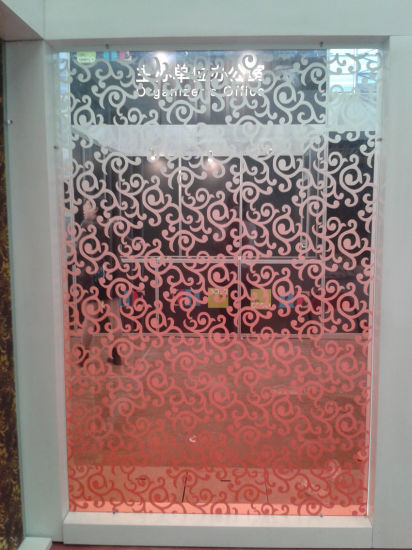 Color Fading Glass for Shower Room pictures & photos