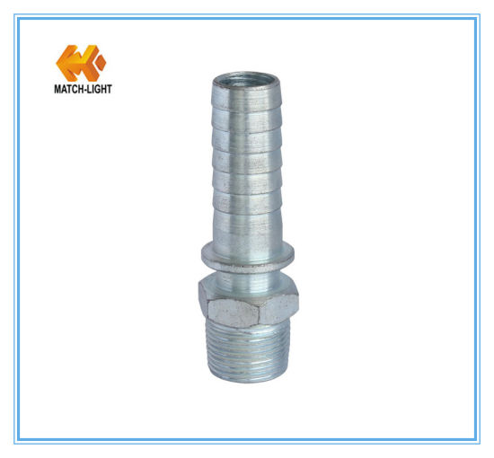 Precision Casting Carbon Steel Ground Joint Hose Fitting (Male Stem)