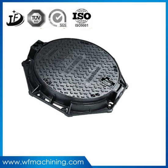 Custom Locking Sand Casting Lightweight Manhole Covers for Drain pictures & photos