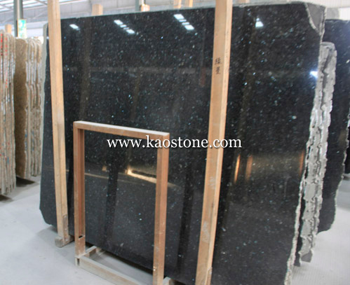 Polished Natural Stone Black Galaxy Granite for Tile, Slab, Tombstone pictures & photos