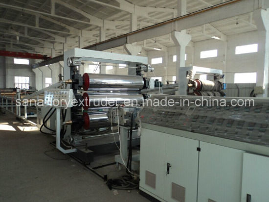 Plastic ABS/PP/PE/PS Sheet Production Line pictures & photos