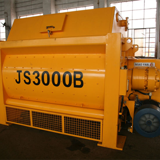 Construction Equipment Concrete Mixer with High Efficiency (Js3000) pictures & photos