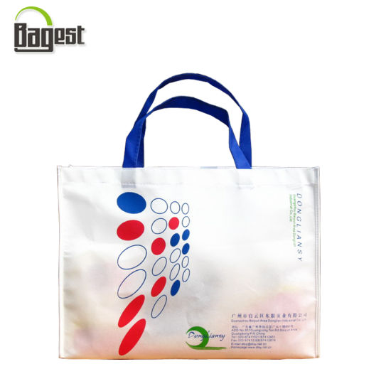 china high quality printed reusable pp laminated non woven gift bag