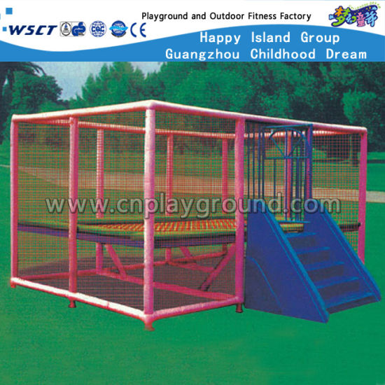 Outdoor Square Funny Trampoline for Kid (HD-15101) pictures & photos