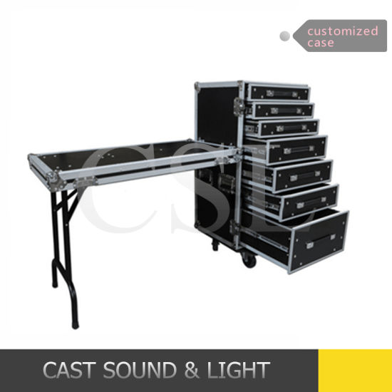 Customized Flight Case, Aluminium Case with Drawers pictures & photos