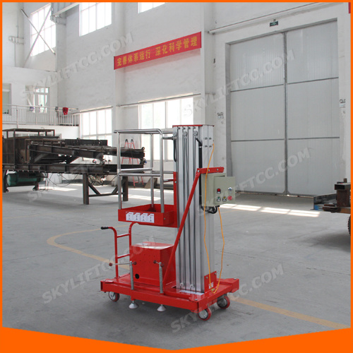 Personal Aluminum Lift Platform with AC Power and DC Power (SJL-10) pictures & photos