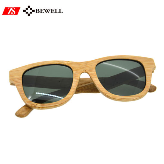 ff5cccb013a4c5 Create Your Own Brand Cat 3 UV400 Shades Bamboo Sunglasses in China ...