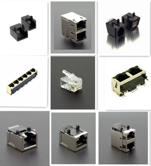 Electronic Component USB VGA HDMI DVI Cable Wire Harness Pin FPC Terminal Waterproof Wafer RF D-SUB Fiber RJ45 Connector