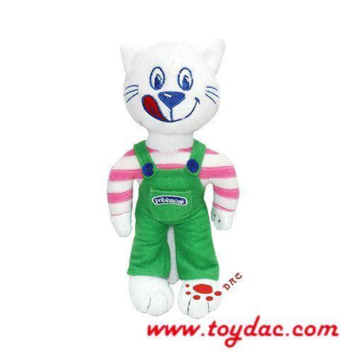 Stuffed Cartoon Toy Cat