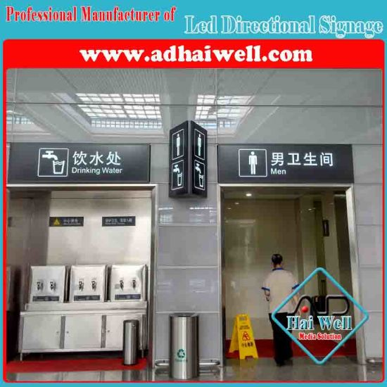 Airport Hanging LED Direction Signage Light Box Display pictures & photos