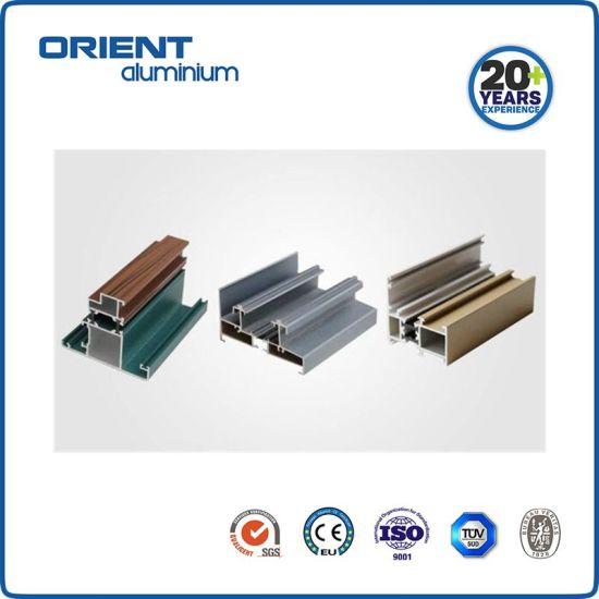 China Custom Standard Aluminum 6063 Extrusion Profile Fabricated