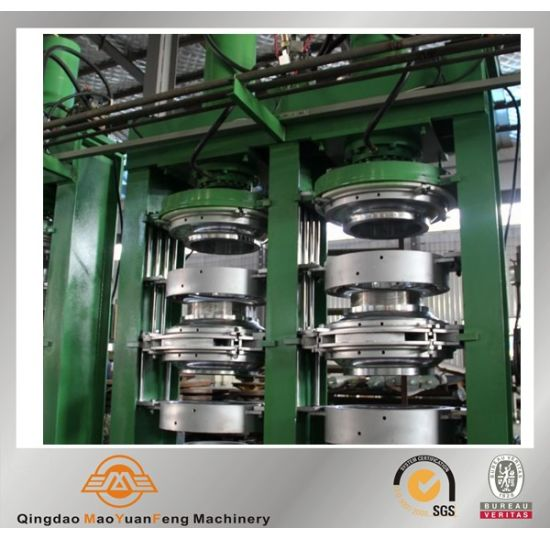 Motorcycle Rubber Tyre Vulcanizing Press with ISO BV SGS pictures & photos