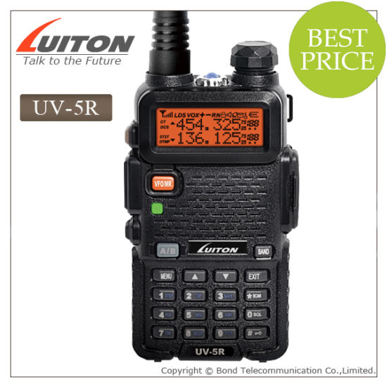China Manufacturer Baofeng UV-5r Dual Band VHF and UHF Interphone pictures & photos