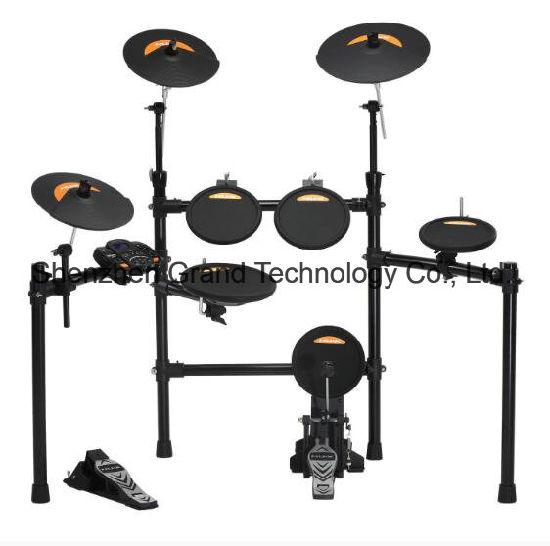 8pcs Electronic Digital Drum Set Stage Digital Drum Kit Chinese