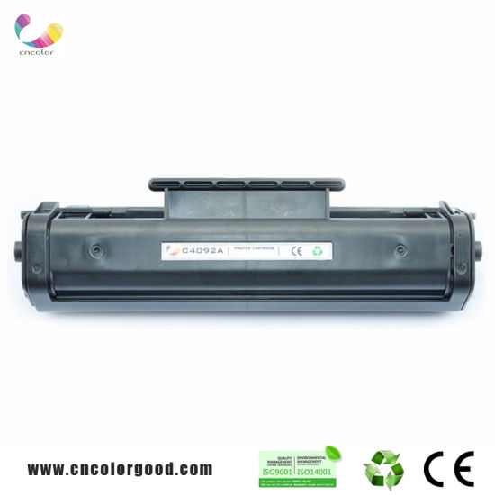 Compatible New Brand Black C4092A/92A Toner Cartridge for HP
