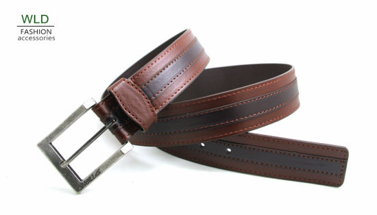 Classic and Basic Man Belt with Split Leather Linning M684