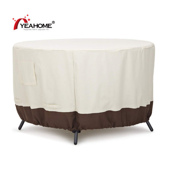 China Outdoor Patio Furniture Covers, Round Patio Furniture Covers With Umbrella Hole