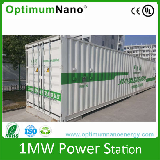 1mwh 1000kwh Energy Storage System Lithium Lifepo4 Battery Station Pictures Photos