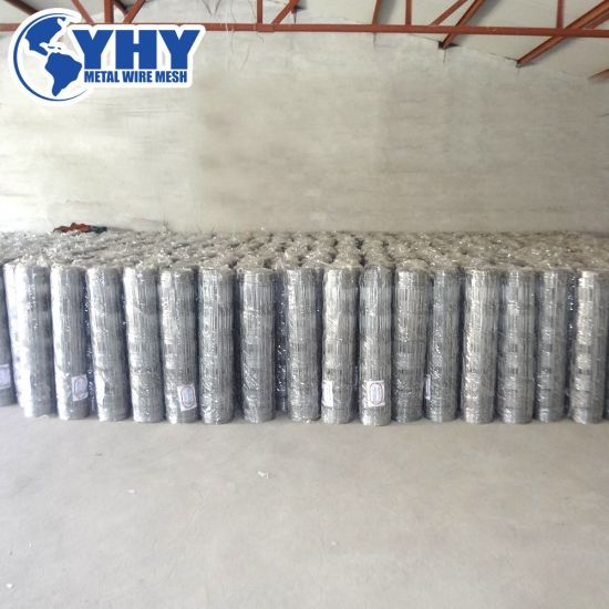 (HOT SALE!) Hinge Joint Field Fence/Hinge Lock Woven Wire Fence (China factory)