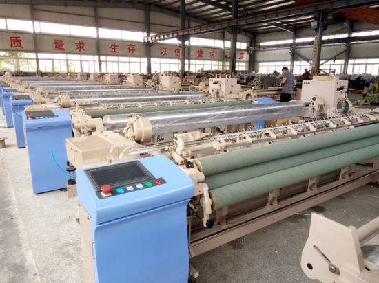 High Speed Air Jet Power Loom Weaving Machinery pictures & photos