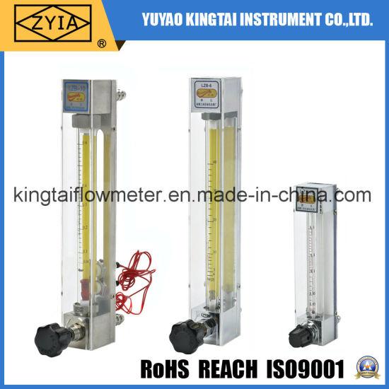 Panel Mount Cheap Mini Type Glass Rotameter Flow Meter /Sight Glass Flowmeter