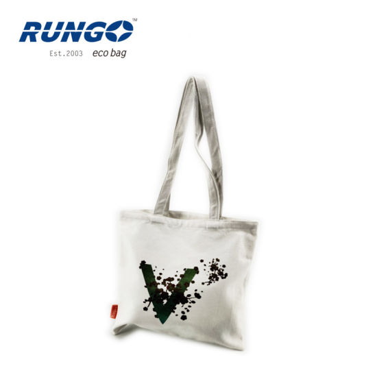 Custom Hot Selling New Fashion Organic Cotton Tote Bag